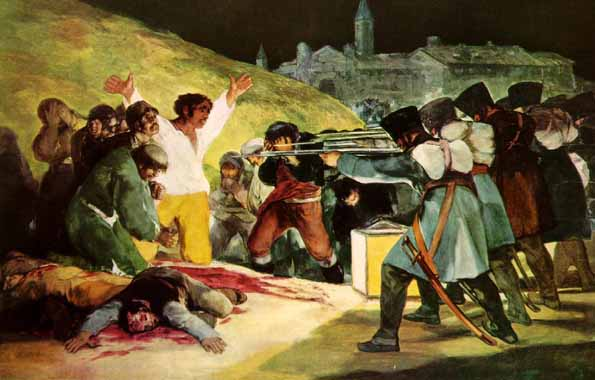 ... (as parent of an 8th grader taking a class at AHS) was Goya's